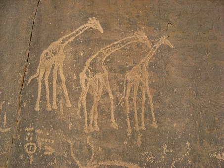 Algeria, Cave Paintings, Ancient Writing, Prehistory