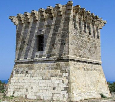 Cyprus, Perivolia, Rigena's Tower, Medieval, Fortress