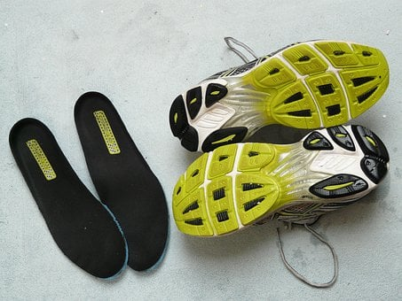 Running Shoes, Sport Shoes, Sole, Shoe Soles, Deposits