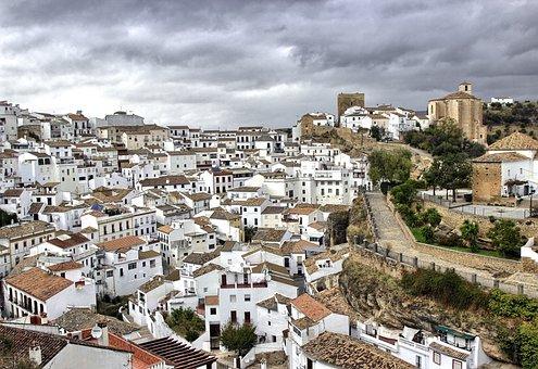 White People, Andalusia, White Houses, Setenil, Cadiz