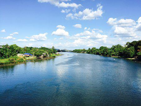 Thailand, River Kwai, The Scenery, Tourism
