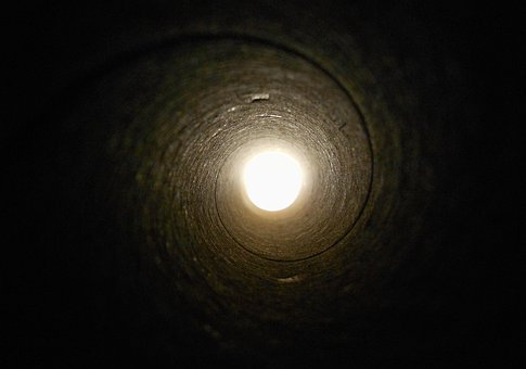 Tunnel, Pipe, Tube, Underground, Construction