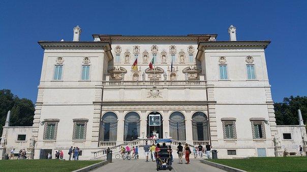 Borghese, Galleria Borghese, Rome, Villa, Museum