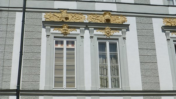 Bavaria, Castle Nymphenburg, Munich, Window