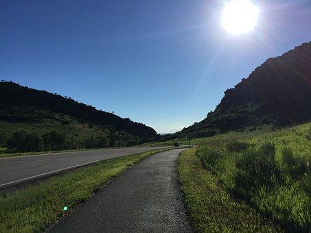Ken, Caryl, Colorado, Way, Road, Day, Sunlight