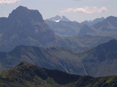 Austria, Vorarlberg, Diedamskopf