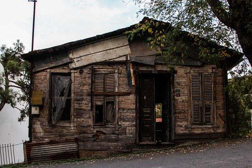 Krot, House, Dilapidated House, Damage, Broken