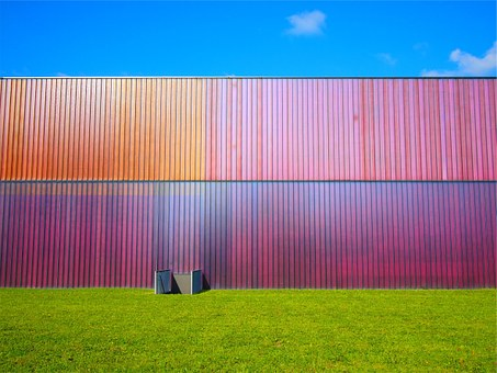 Wall, Siding, Colors, Colours, Grass, Bright