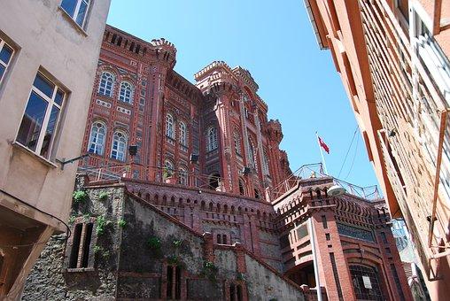 Istanbul, Turkey, School, Balat, Fener, Greek School
