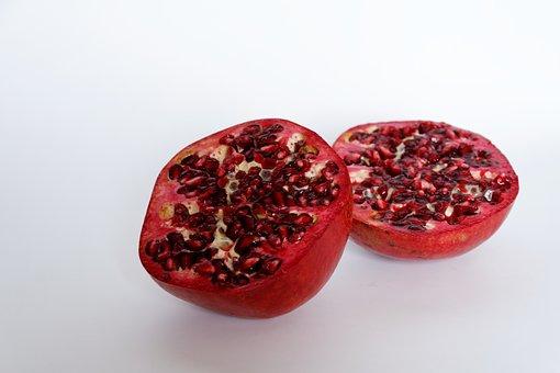 Pomegranate, Fruit, Healthy, Vitamins, Fruits