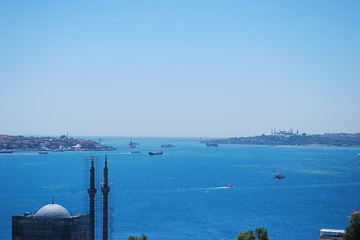 Istanbul, Turkey, Bosphorus, Marmara, Sea