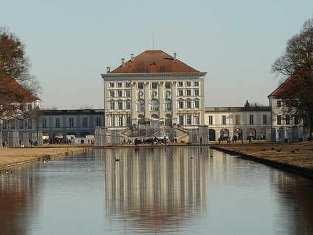 Nymphenburg Palace, Castle, Nymphenburg, Munich, Water
