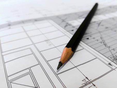 Plan, Build, Draw, Architect, Cad, Artist, Pen, Pencil