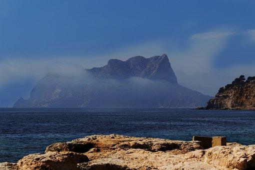Calpe, Ifach, Moraira, Alicante, Calpe Rock, Spain