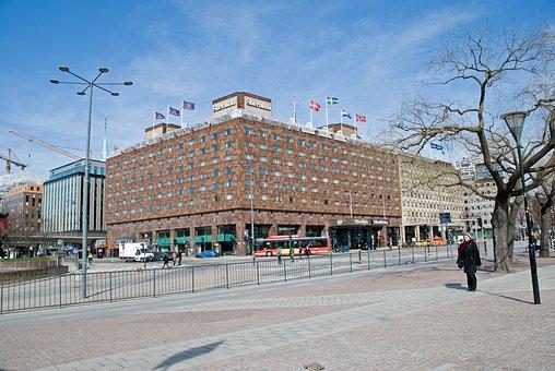 Hotel, Sheraton Hotel, Stockholm, Sweden, City