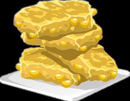 Peanut Brittle, Brittle, Peanut, Sweet, Snack, Dessert