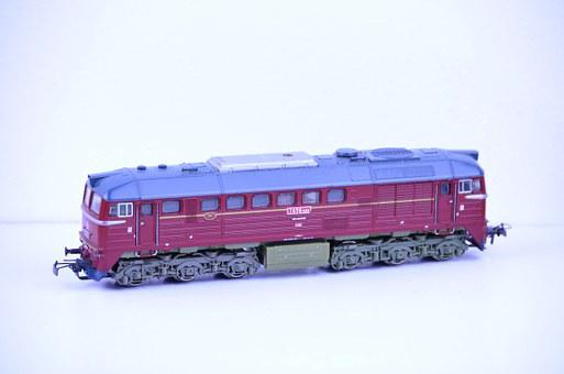 Locomotive, Russian, Car, Vehicle, Transport, Train