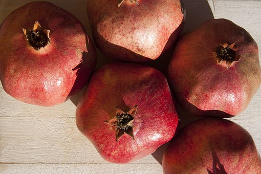 Pomegranate, Red, Fruit, Delicious, Healthy, Vitamins