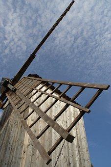 Windmill, Wing, Windmill Blades, Mill, Architecture