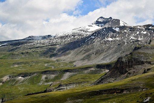 Mountains, Alpine, Nature, Hiking, Glockner Road