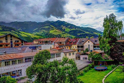 Austria, St Johann, Alps, Landscape, Vacation, Salzburg