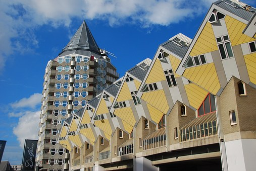 Rotterdam, Cube House, Architecture