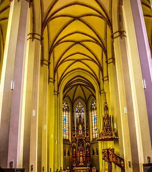 Church, Austria, St Johann, Salzburg, Architecture