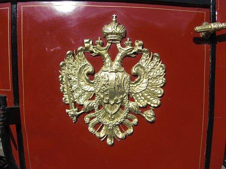 Vienna, Austria, Coach, Coat Of Arms, Double Eagle