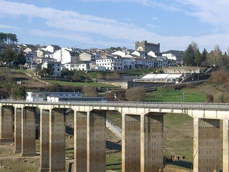 Bridge, Portomarín, Rio Miño