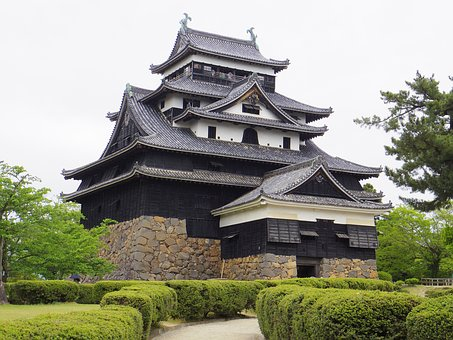 Castle Of Japan, Matsue Castle, Castle, Shimane