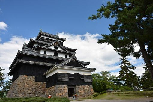 Castle, Japan, Shimane, Matsue Castle