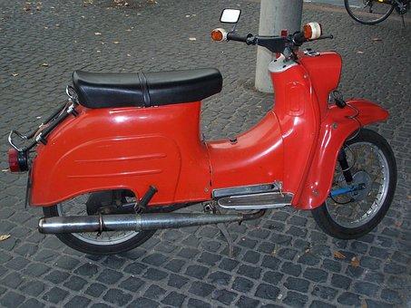 Simson, Classic, Motorcycle, Autmobile, Motorbike