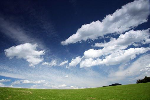 Sky, The Clouds, Windows, Country, Field