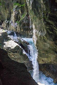 Liechtensteinklamm, Waterfall, Gorge, St Johann