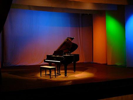 Piano, Music, Theatre, Keyboard, Musical, Instrument