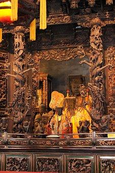 Temple, Matsu, Construction, Religion