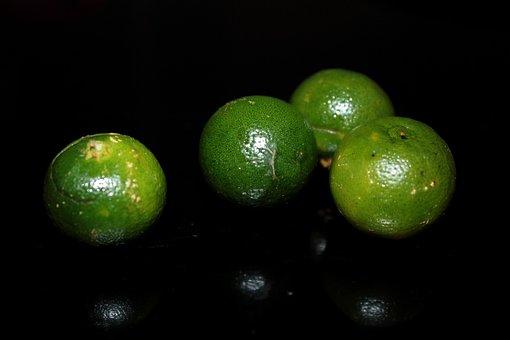 Calamansi, Fruit, Round, Green, Vitamins C, Juice