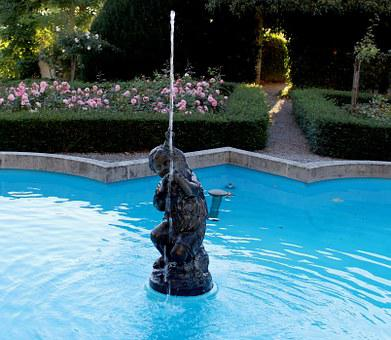 Fountain, Fountain Jewelry, Sculpture, Water