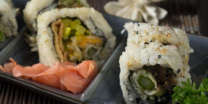 Sushi, Food, Japanese, Meal, Japan, Rice, Asian, Plate