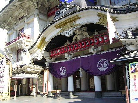 Kabuki Theater, Theatre, Japan, Tokyo
