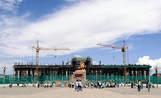 Mongolia, Ulaanbaatar, Chinggis
