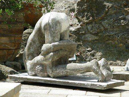 Art, Stone, Sculpture, Artwork, Tuscany