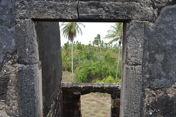View From The Window Of The Castle, Strong Beach, Bahia