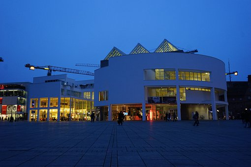 Town Home, Stadthalle, Ulm, Building, Architecture