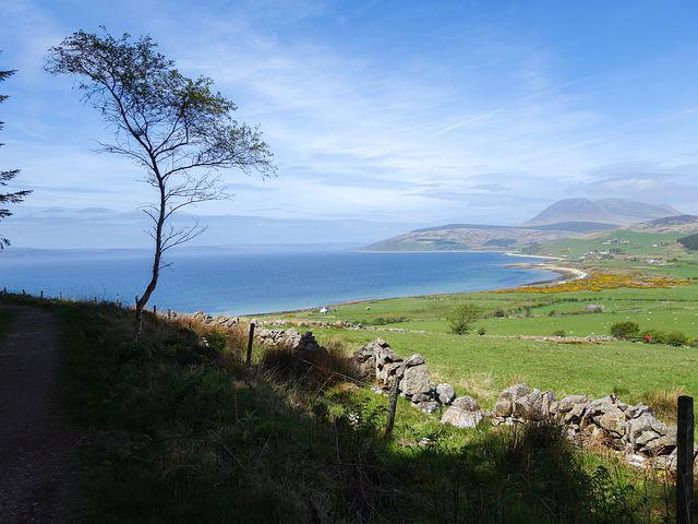 Isle Of Arran, Sea, View, Coast, Arran, Isle, Coastline
