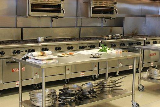 Kitchen, Industrial Kitchen, Commercial, Restaurant