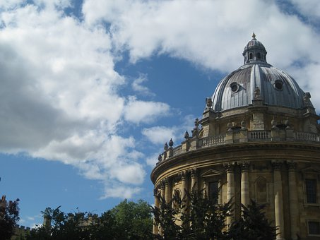 Oxford, England, Theatre, Domed, Consistency With The