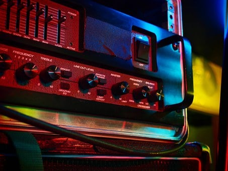 Amplifier, Controls, Technology, Knobs, Electric, Music