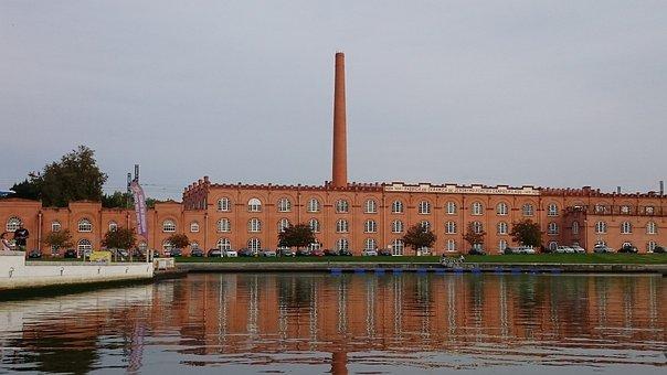 Portugal, Aveiro, Fabrica De Ceramica, Factory, Water