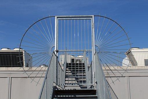 Metal Door, Gate, Safety, Intrusion Detection